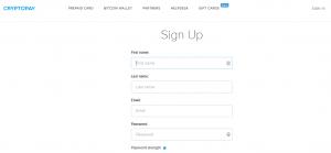 Cryptopay регистрация