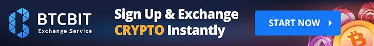 BTCBIT крипто обменник: купить или продать криптовалюту BTC, ETH